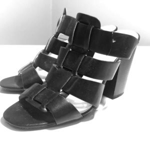 Express Leather Mules
